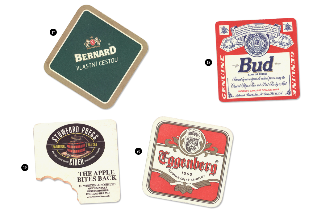 Коллекция бирдекелей: Избранные подставки под пиво дизайнера Никиты Трепцова. Изображение № 9.
