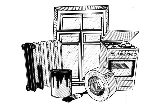Барсучий жир, борода, обогреватель из горшков и другие способы согреться в холодную погоду. Изображение № 1.