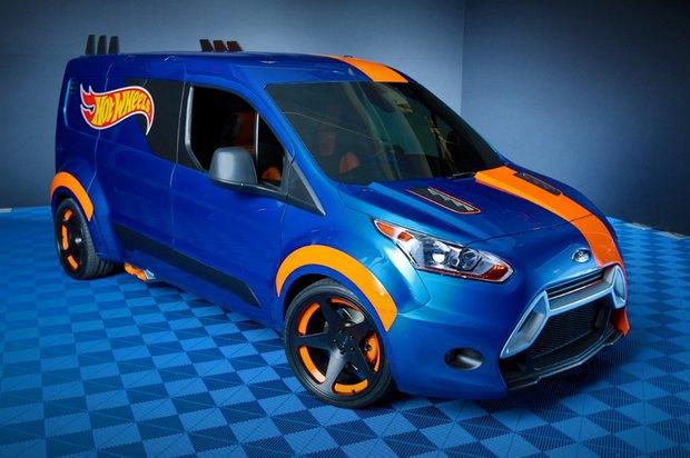 Ford превратил игрушечную машинку в полноразмерный концепт. Изображение № 1.