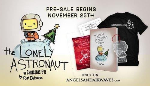 Вокалист группы Blink-182 напишет детскую книжку про астронавта. Изображение № 1.