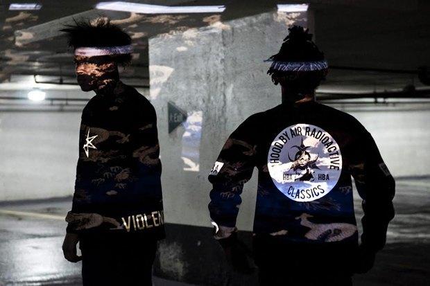Ритейлер Contraband Boutique снял лукбук новой коллекции марки Hood by Air. Изображение № 4.