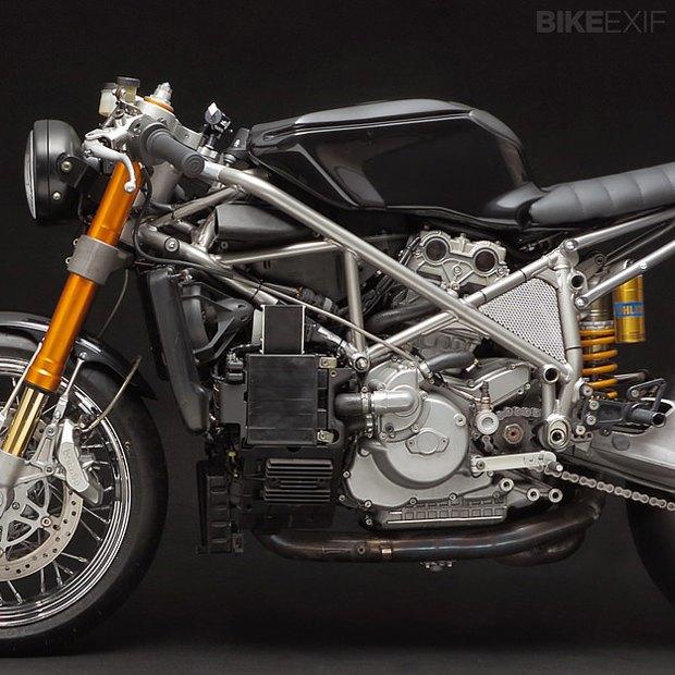 Мастерская Venier Custom собрала новый байк Ducati 999S Testastretta. Изображение № 4.
