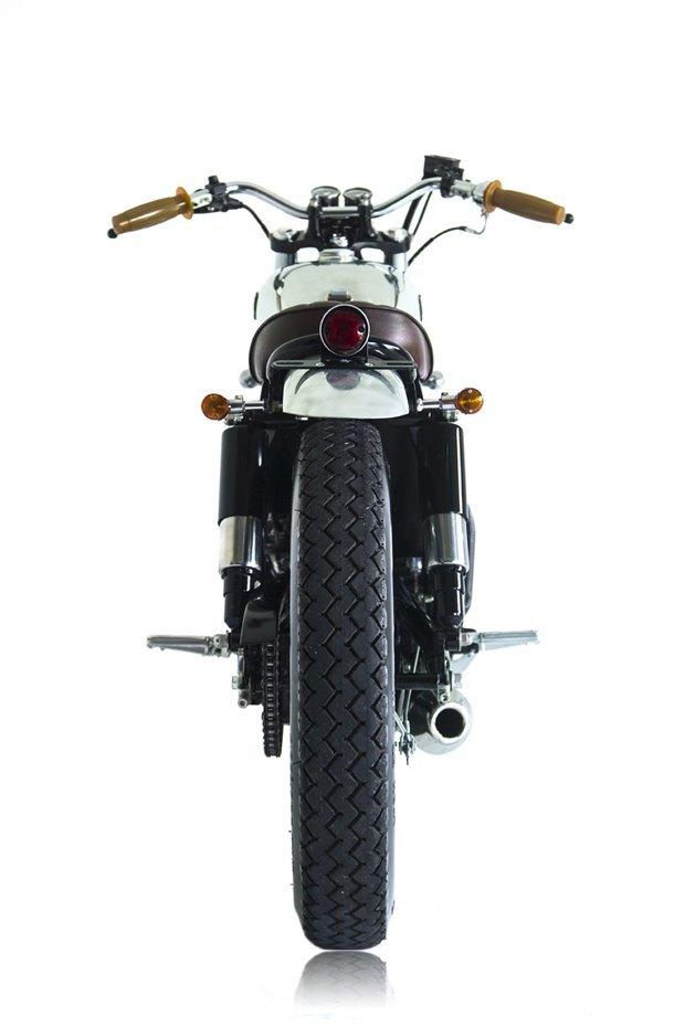 Мастерская Deus Ex Machina собрала новый мотоцикл на базе Yamaha SR400. Изображение № 3.