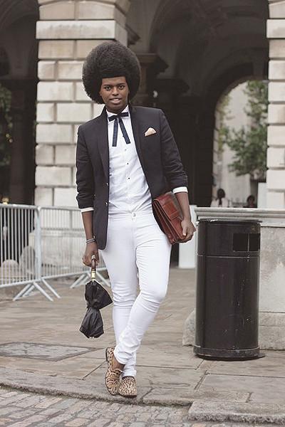 Уличный стиль на неделе моды в Лондоне. Изображение № 15.