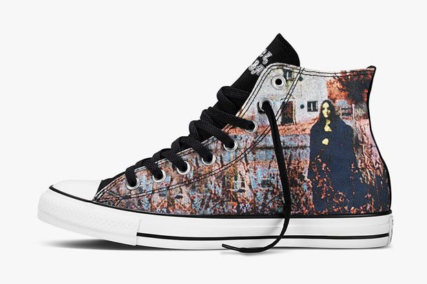 Марка Converse и группа Black Sabbath выпустили совместную коллекцию обуви. Изображение № 4.