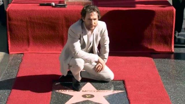 Мэттью Макконахи получил звезду на «Аллее славы Голливуда». Изображение № 1.