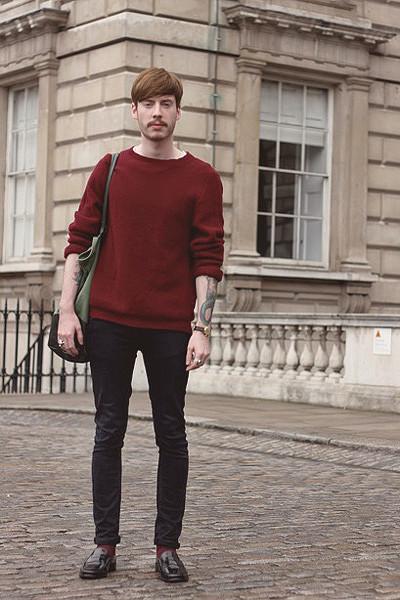 Уличный стиль на неделе моды в Лондоне. Изображение № 37.