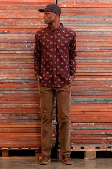 Марка Obey опубликовала лукбук осенней коллекции одежды Holiday. Изображение № 12.