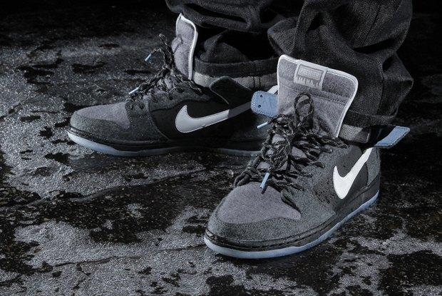 Магазин Premier и марка Nike выпустила совместную модель обуви SB Dunk Hi Premier SE. Изображение № 7.