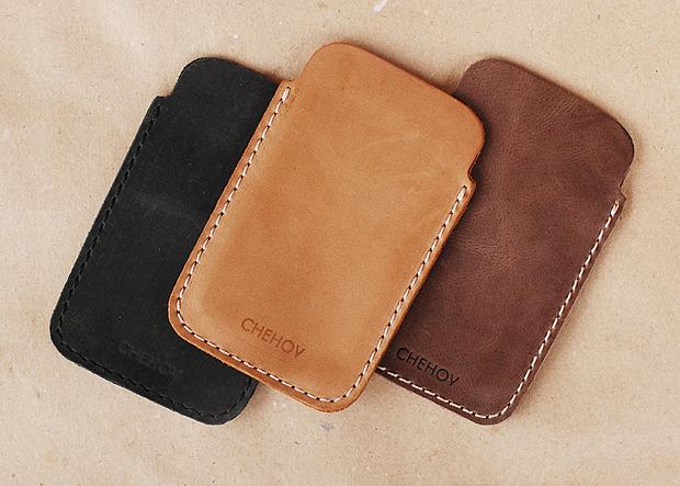 Московская марка бабочек и галстуков Chehov выпустила коллекцию кожаных изделий. Изображение № 7.