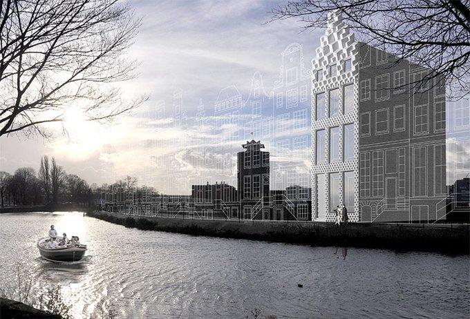 Голландские архитекторы собираются напечатать дом на 3D-принтере. Изображение № 1.