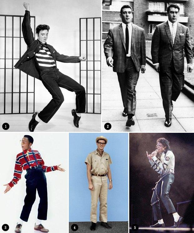 Коротко и ясно: Как правильно носить укороченные брюки. Изображение №1.