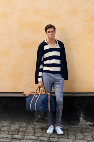Марка Gant Rugger представила лукбук весенней коллекции одежды. Изображение № 11.