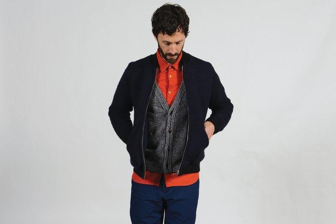 Шотландская марка Folk опубликовала лукбук осенней коллекции одежды. Изображение № 11.