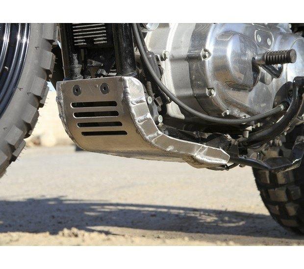 Мастерская Burly Brand представила скрэмблер на основе Harley-Davidson Sportster. Изображение № 12.