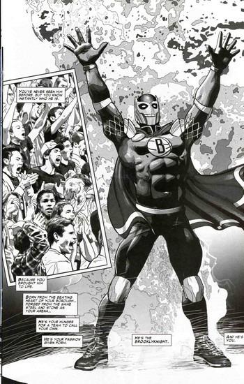Marvel представили первого в истории супергероя-баскетболиста. Изображение № 11.