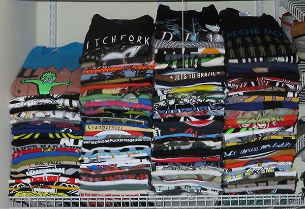 Minor Thread: Тысячедневный марафон футболок с логотипами музыкантов. Изображение № 36.