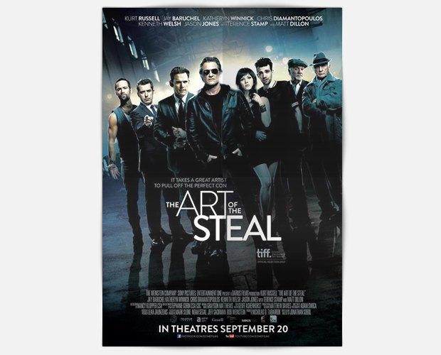 Трейлер дня: «Чёрные метки». Курт Рассел в роли байкера-каскадера — похитителя произведений искусств. Изображение № 1.