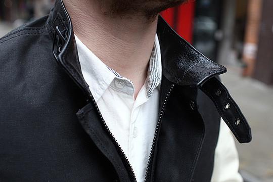 Изображение 4. Компания Vanson создала гибрид университетской и мотоциклетной курток.. Изображение № 4.