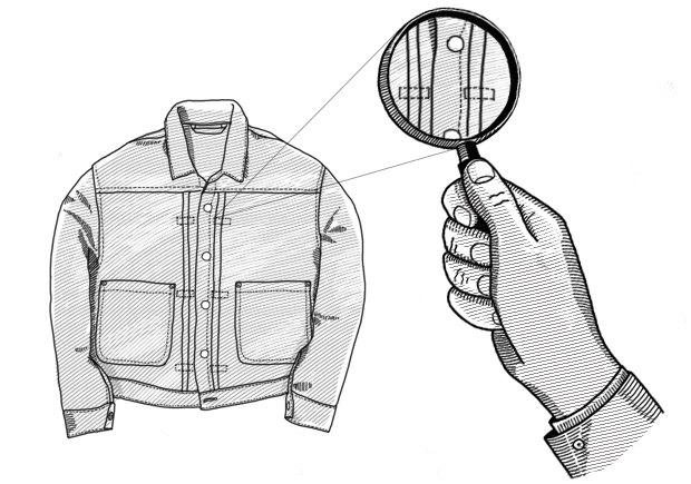 Внимание к деталям: Как появились горизонтальные складки на джинсовых куртках. Изображение № 1.