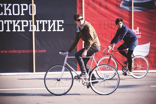 Детали: Фоторепортаж с открытия велосезона Fixed Gear Moscow. Изображение №35.