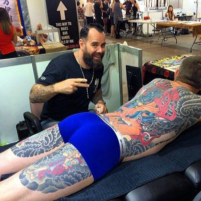 Австралийская выставка Tattoo and Body Art Expo в Instagram-фотографиях её участников. Изображение № 16.