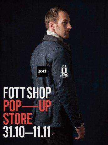 Магазин FOTT откроет поп-ап-стор в универмаге Tsvetnoy. Изображение № 1.
