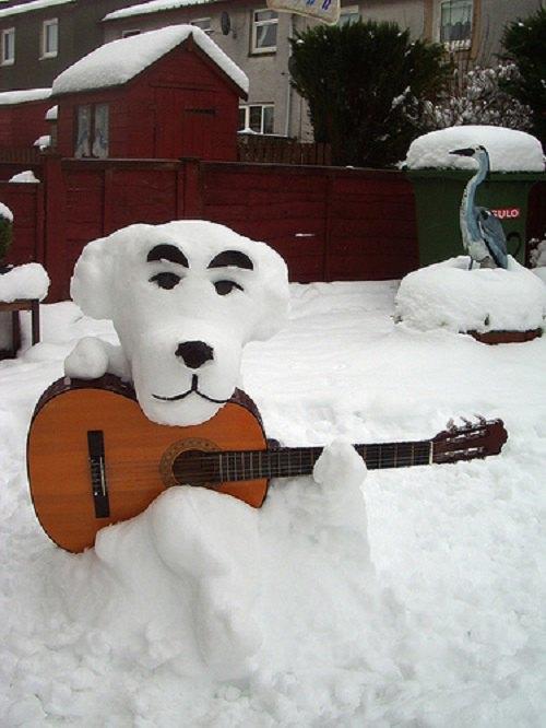 Что ты лепишь: Альтернативные снеговики со всего мира. Изображение №5.