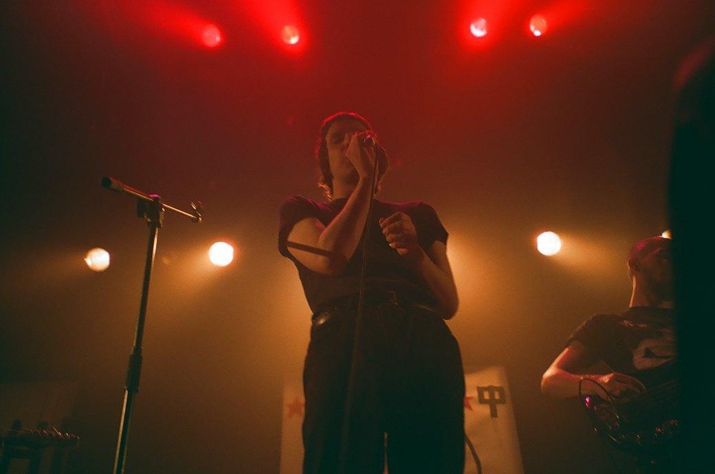 Фоторепортаж: Концерт «Панк-фракции красных бригад» в театре имени Вс. Мейерхольда. Изображение № 21.
