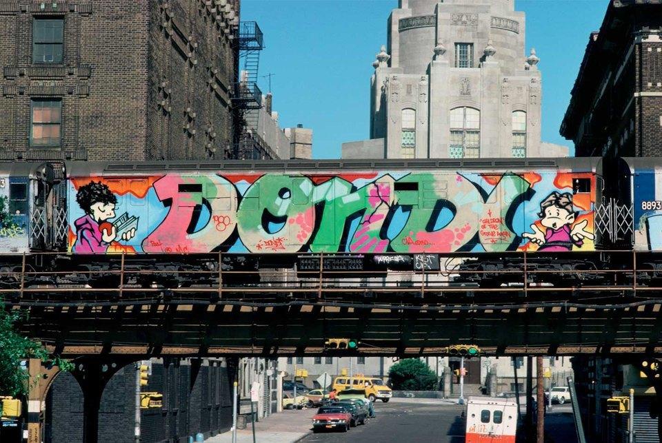 8 знаменитых фотографов, исследовавших мир граффити. Изображение № 13.