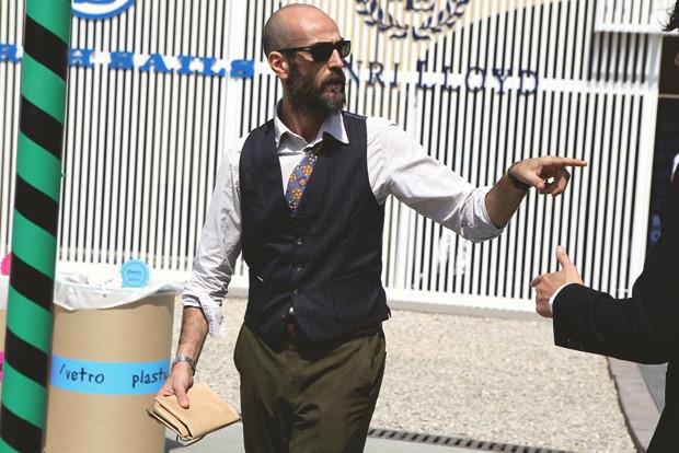 Первый день Pitti Uomo: Прически, усы и бороды посетителей. Изображение № 18.