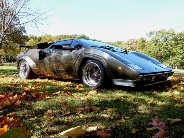 Американец за 17 лет собрал у себя в подвале реплику Lamborghini Countach. Изображение № 1.