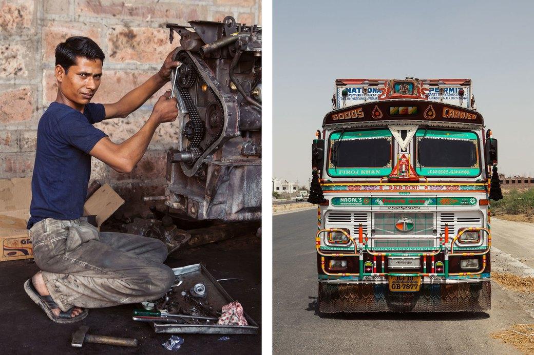 Я и друг мой грузовик: Индийские дальнобойщики и их автомобили. Изображение № 24.