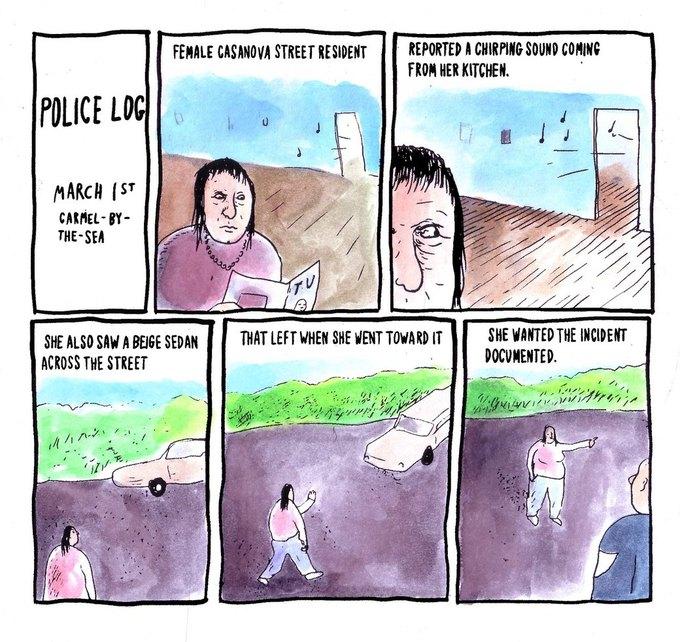 Police Log Comics: Абсурдные полицейские сводки в формате комиксов. Изображение № 22.
