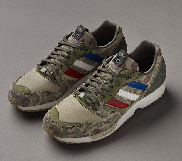 Марки A Bathing Ape, Undefeated и Adidas Originals представили совместную коллекцию кроссовок. Изображение № 3.