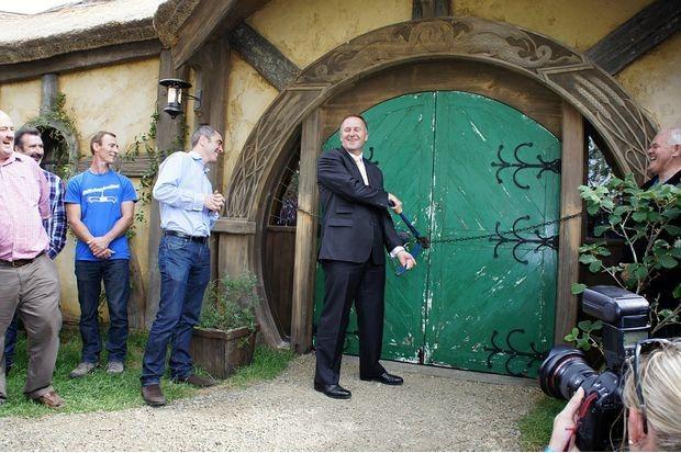В Новой Зеландии открылся хоббитовский паб. Изображение № 1.