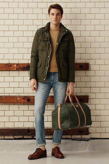 Марка Gant Rugger опубликовала лукбук осенней коллекции одежды. Изображение № 12.