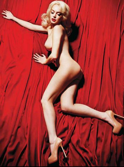Актриса Линдси Лохан снялась для журнала Playboy. Изображение № 4.