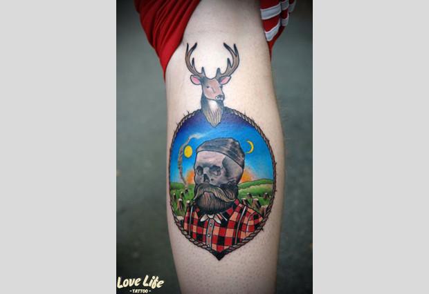 Избранные работы студии Love Life Tattoo. Изображение № 7.