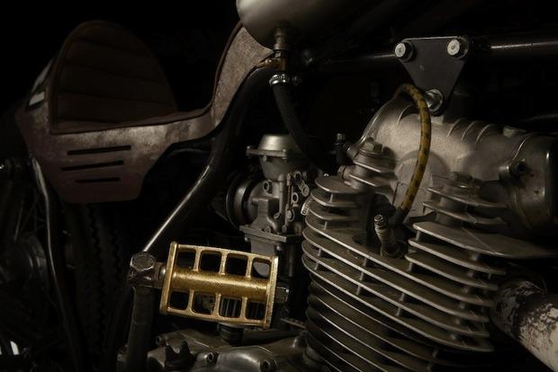 Испанская мастерская El Solitario изготовила мотоцикл Winning Loser. Изображение № 12.