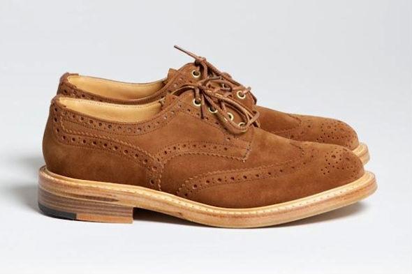 Совместная коллекция обуви Trickers и Superdenim. Изображение № 3.