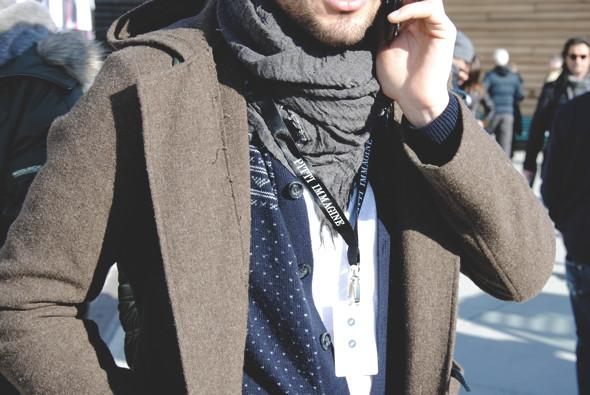 Детали: Репортаж с выставки мужской одежды Pitti Uomo. День первый. Изображение № 39.