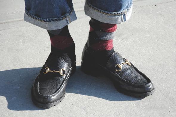 Детали: Репортаж с выставки мужской одежды Pitti Uomo. День первый. Изображение № 32.