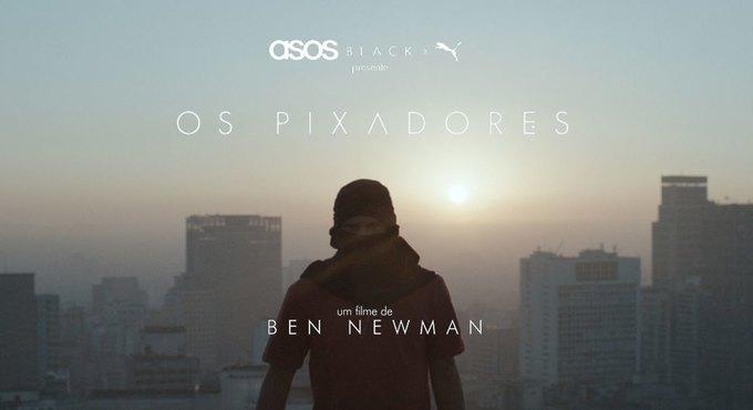 Pixadores: Документальный фильм об уличных художниках из Бразилии. Изображение № 1.