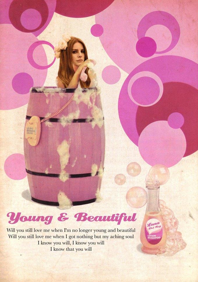 Ads Libitum: Звезды поп-культуры на винтажных рекламных плакатах. Изображение № 26.