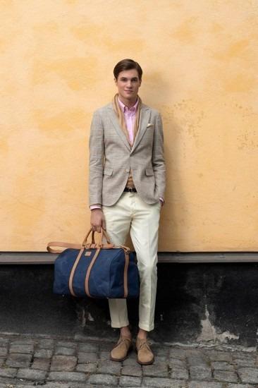 Марка Gant Rugger представила лукбук весенней коллекции одежды. Изображение № 5.