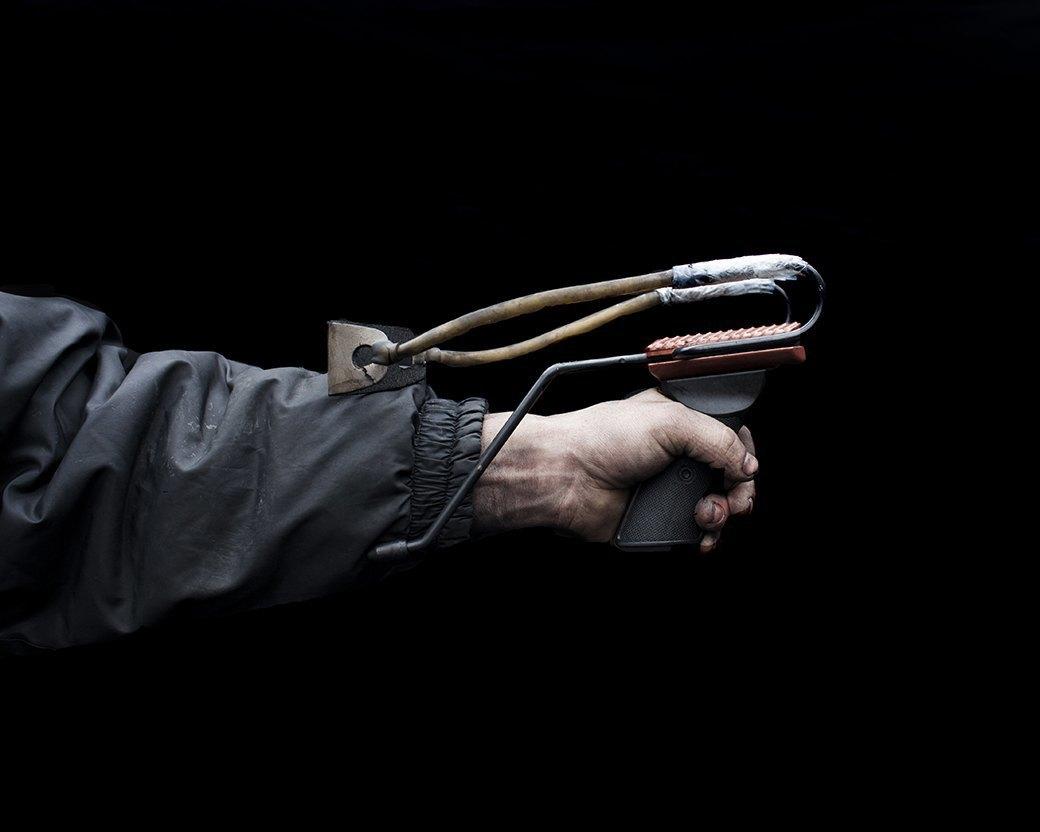 Фотопроект: Самодельное оружие украинской революции. Изображение № 7.