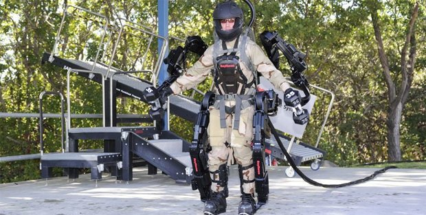 Военные США протестировали новый экзоскелет. Изображение № 2.