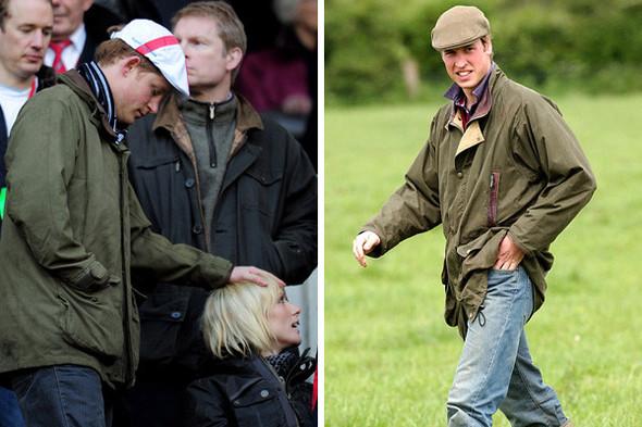 Принц Гарри и принц Уильям в куртках Barbour. Изображение № 21.