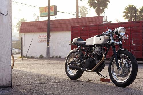 Мотоцикл Yamaha SR500 «The Venice» мастерской DEUS. Изображение № 3.